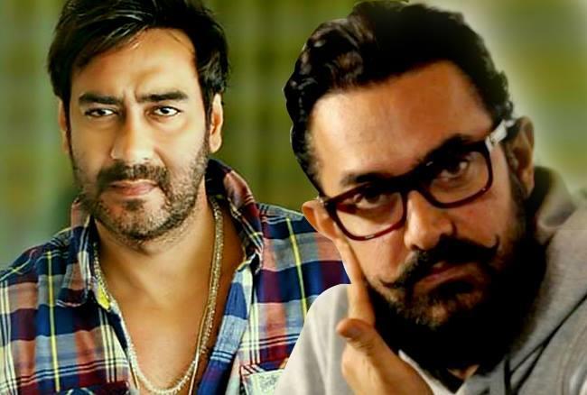 आमिर खान ने किया 'गोलमाल', सुपरस्टर अजय के साथ की 'सीक्रेट' मीटिंग