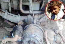 ट्रक से टकराकर महिलाओं के हुए दो टुकड़े, ऐसे बची मासूम
