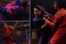 Bigg Boss 11: अर्शी खान ने घोंटा हिना खान का गला, हिना ने डंडे से की कुटाई- वीडियो हुआ वायरल