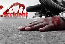 जौनपुर में सड़क दुर्घटना में एक ही परिवार के तीन लोगों की मौत
