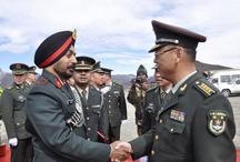 भारत-चीन सेना कर्मियों ने लिया शांति बनाए रखने का संकल्प