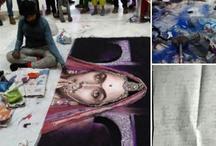 भीड़ ने 'जय श्री राम' के नारों के साथ पद्मावती रंगोली को किया तहसनहस, दीपिका का चढ़ा पारा