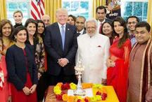 डोनाल्ड ट्रंप ने अमेरिकी-भारतीयों के साथ ऐसे मनाई दीपावली, देखें जश्न की फोटो