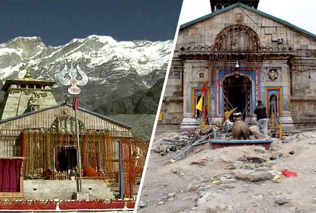 देखें तस्वीरों में कैसे एक तबाही ने बदल दिया था केदारनाथ मंदिर, आज है ऐसा