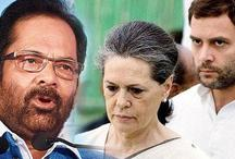 अहमद पटेल के मुद्दे पर मुख्तार नकवी ने बोला राहुल, सोनिया गांधी पर बड़ा हमला