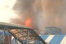 VIDEO: मुंबई के बांद्रा में भीषण आग, 16 दमकल की गाड़ियां पहुंची मौके पर