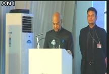 राष्ट्पति रामनाथ कोविंद ने कहा, अंग्रेजी के साथ संगत नहीं हो सकता है।