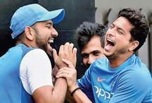 रोहित ने कुलदीप, चहल से कहा कुछ ऐसा कि दोनों नहीं रोक सके अपनी हंसी