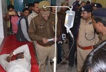 पुलिस ने मुठभेड़ के बाद बीस हजार का इनामी बदमाश दबोचा, दो पुलिसकर्मी गंभीर