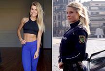 जर्मनी की इस हॉट पुलिस कमिश्नर ने सोशल मीडिया पर मचाया तहलका, देखें तस्वीरें