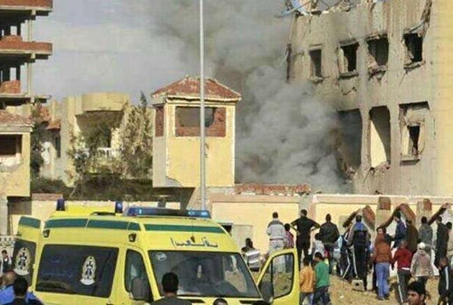 मिस्र में जुमे की नमाज के दौरान धमाका, 115 की मौत 120 घायल