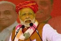 गुजरात चुनाव 2017: भुज रैली में पीएम मोदी ने गुजराती भाषा में कांग्रेस पर जमकर चलाए तीर