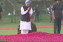 पूर्व पीएम इंदिरा गांधी को राहुल गांधी, मनमोहन सिंह समेत कांग्रेस के वरिष्ठ नेताओं ने दी श्रद्धांजलि
