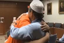 बेटे के हत्यारे को लगाया गले, दुनिया भर में हो रही इस शख्स की तारीफ