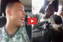 Video: कार के अंदर ये कर रहे थे युवक, पुलिस ने हेलिकॉप्टर से बरसाई गोलियां