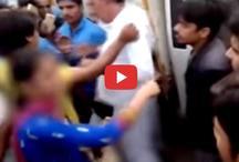 VIDEO: महिला ने सरपंच पर लगाया छेड़छाड़ का आरोप, बीच बाजार जमकर की धुनाई