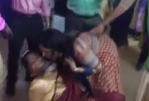 महिला कर्मचारियों का अश्लील डांस वायरल, जमकर नोट उड़ाए