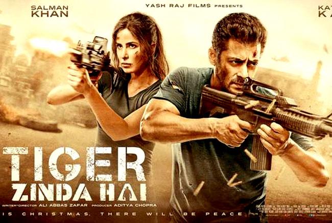 सलमान की फिल्म टाइगर जिंदा है ने बॉक्स पर की धुआंधार कमाई, तोड़ डाले सारे रिकॉर्ड