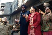 पंजाब निकाय चुनाव 2017ः नवजोत सिंह सिद्दू और नवजोत कौर ने किया मतदान