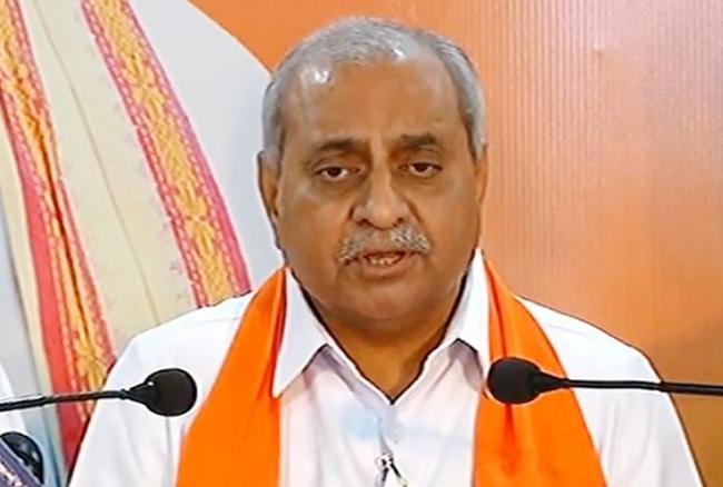 गुजरात: नितिन पटेल बन सकते हैं मुख्यमंत्री, बड़े नेताओं ने किया समर्थन