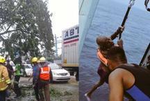 'ओखी' तूफान ने समुंद्र से लेकर सड़क तक मचाई तबाही, अबतक हुआ इतना नुकसान