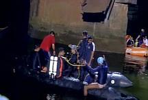 गोवा पुल हादसाः 2 की मौत, 15 को जिंदा बचाया गया