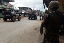 Philippine army counters ISIS terrorist guerrillas in Marawi