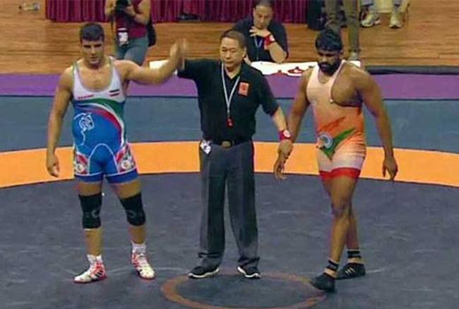 एशियन कुश्ती चैंपियनशिप में सुमित को मिला रजत पदक