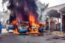 राजस्थान: आरक्षण की मांग को लेकर जाट आंदोलनकारियों का प्रदर्शन