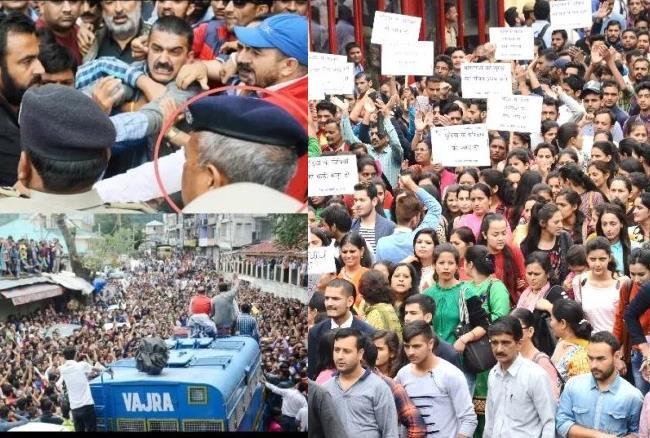 गुड़िया गैंगरेप: शिमला में CBI जांच के आदेश के बावजूद नहीं रुक रही हिंसा