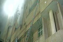 लखनऊ: ट्रॉमा सेंटर में आग लगी, मरीजों को निकाला गया बाहर