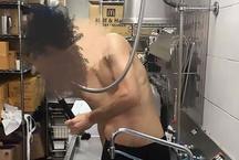 McDonald के किचन में नहाते हुए कर्मचारी की फोटो हुई वायरल