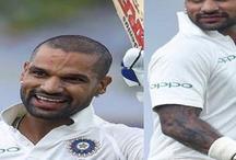शिखर धवन: पहले टेस्ट में 187 रन और अब वापसी टेस्ट में 190 रन, तोड़ डाले कई रिकॉर्ड
