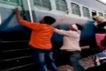 चलती ट्रेन में मुस्लिम परिवार पर टूटा बदमाशों का कहर, रॉड से की पिटाई, लूटे गहने