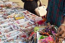राखियों से सजी दुकानें, लोगों ने किया चाइनीज राखियों का बहिष्कार