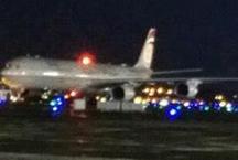 मुंबई एयरपोर्ट पर एतिहाद एयरवेज के विमान का टायर फटा