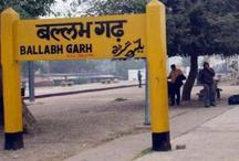 बल्लभगढ़ रूट पर ट्रेन से फेंके गए दो युवक, एक की मौत