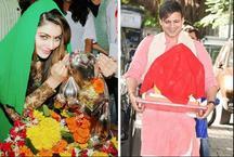 Pics: बॉलीवुड सतारों ने ऐसे मनाया गणेश चतुर्थी