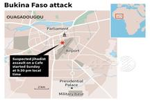 बुर्किना फासो: कैफे में आतंकी हमला, 17 की मौत, 9 घायल