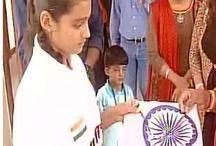 रक्षाबंधन के दिन मुस्लिम लड़की लहराएगी कश्मीर में तिरंगा