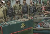 जम्मू-कश्मीर: सर्च ऑपरेशन के दौरान सेना ने किया आतंकियों के ठिकाने का भंडाफोड़