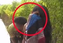 पार्क में बैठे प्रेमी जोड़ों पर टूटा पुलिस का कहर, लड़कियों को भी भगा-भगाकर पीटा