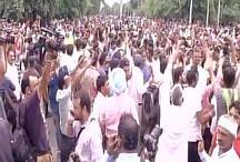 राम रहीम के समर्थकों ने पावर हाउस और तहसील दफ्तर को फूंका