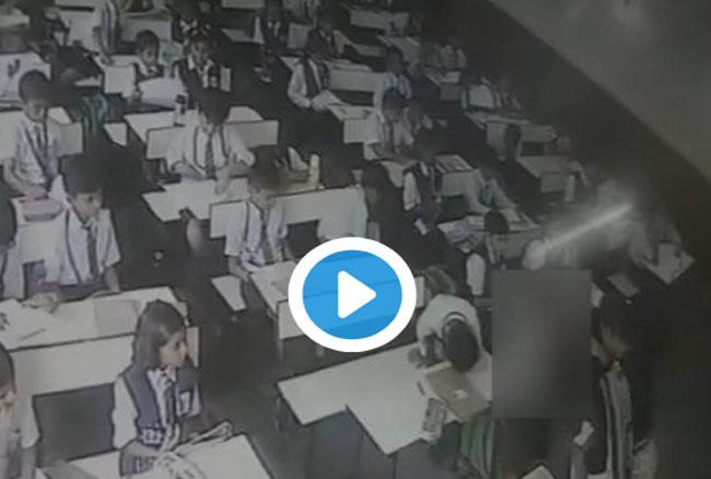 लखनऊ: योगी के राज में बच्चों पर कहर, टीचर ने उधेड़ी खाल