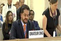 बलूचिस्तान के प्रतिनिधि ने यूएन में आतंकवाद को लेकर पाक की खोली पोल