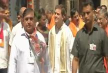रोड शो के दौरान राहुल गांधी ने पीएम मोदी पर साधा निशाना