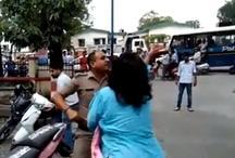 महिला जज ने सरेआम पुलिसवाले को जड़े थप्पड़ पर थप्पड़, वीडियो हुआ वायरल