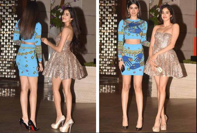 Pics: श्रीदेवी की बेटियों पर रही सबकी नजर, पार्टी में बड़ी-बड़ी हीरोइनों को भूले लोग
