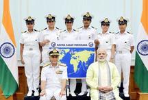 इंडियन नेवी की 6 महिला अधिकारी सागर परिक्रमा पर निकलीं, ये है प्लान