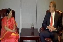 8 देशों के विदेश मंत्रियों से की सुषमा ने मुलाकात, इस मुद्दे पर की चर्चा